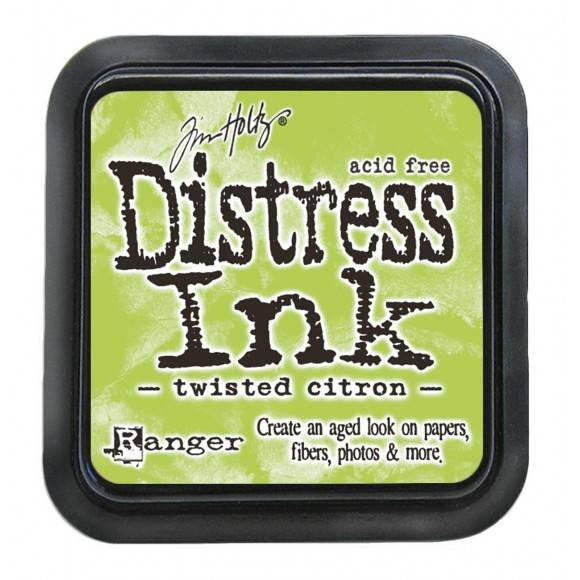 Distress Twisted Citron pad