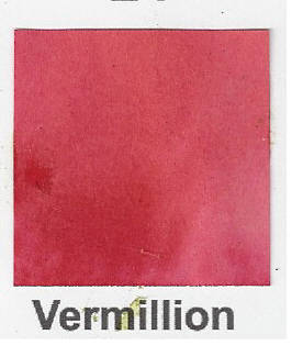 Brusho Vermillion