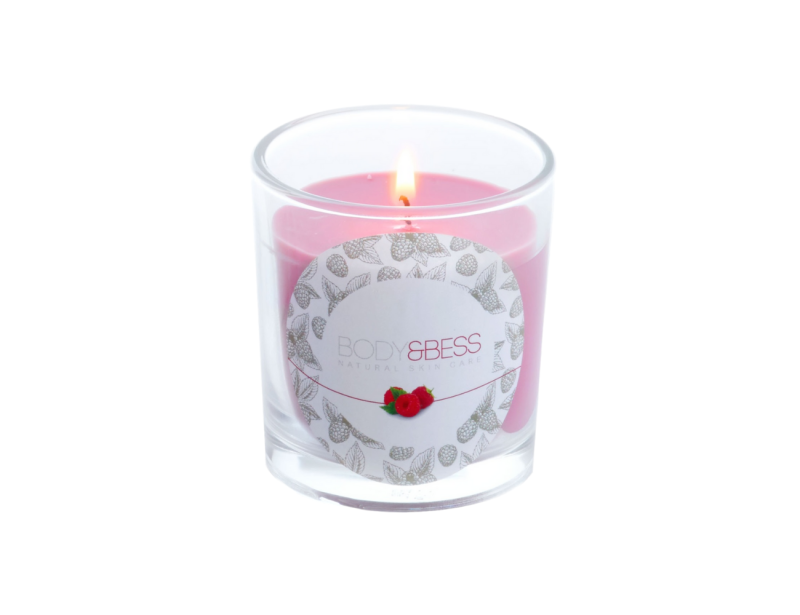 Cosy Candle (pink)