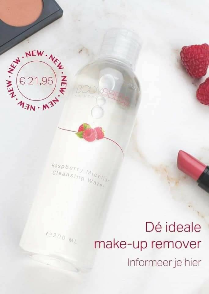 Raspberry micellar cleansing water  200ml