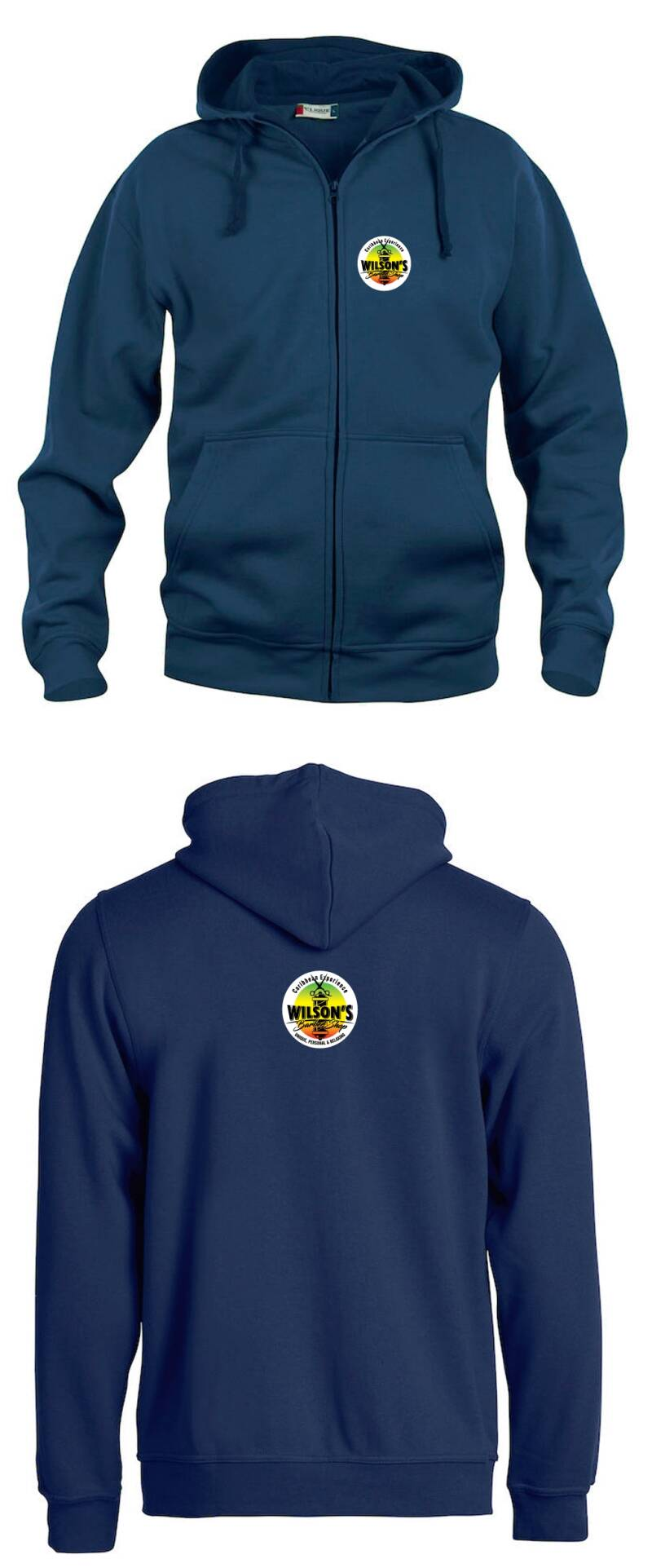 Designer Hoodie 2020! 1st Year Limited Edition. NAVY BLUE with ZIPPER