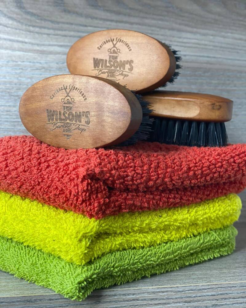 Caribbean Experience Hair & Beard Brush