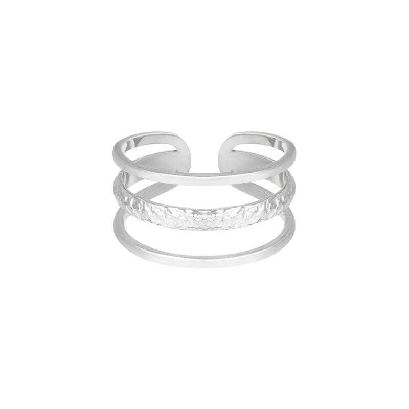 Ring Layers silver