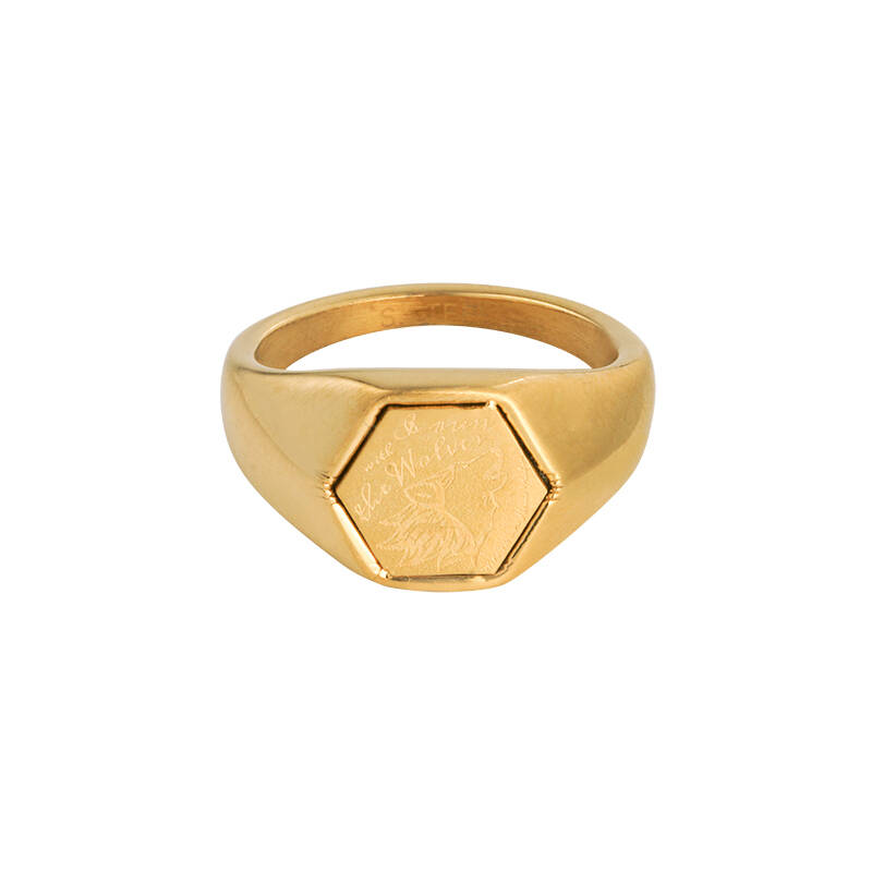Ring Wolves - Gold