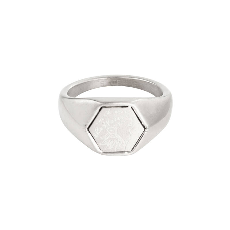 Ring Wolves silver