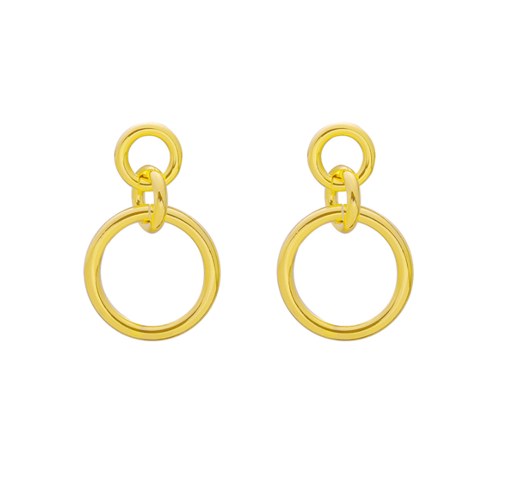 Kind of chic earrings - goud
