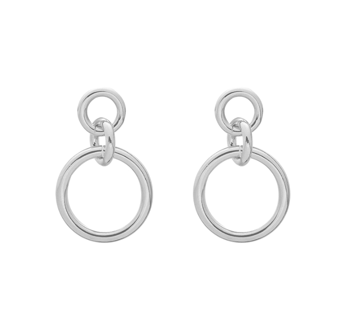 Earrings kind of chic  - zilver