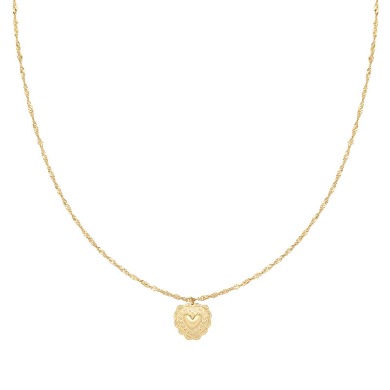 Ketting true love  - goud