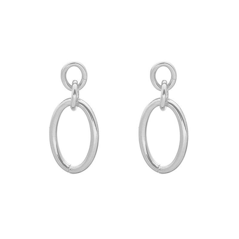 Holy chic earrings - zilver
