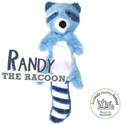 Beco Stuffing Free Speelgoed - Randy the Racoon
