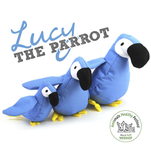 Beco Plush Toy - Lucy the Parrot
