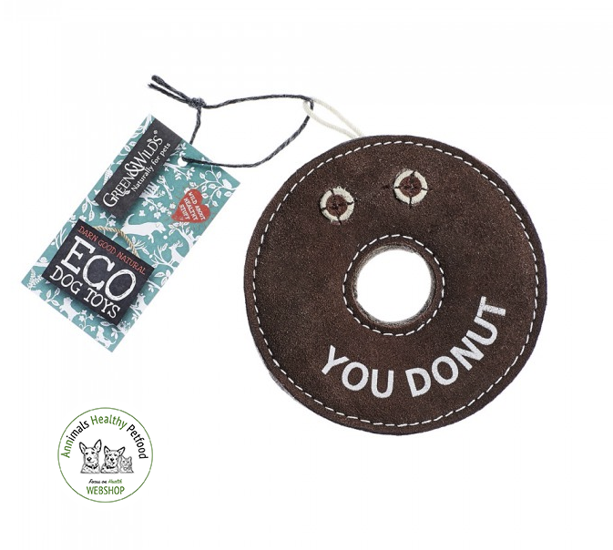 Derrick the Donut - Eco Dog Toy
