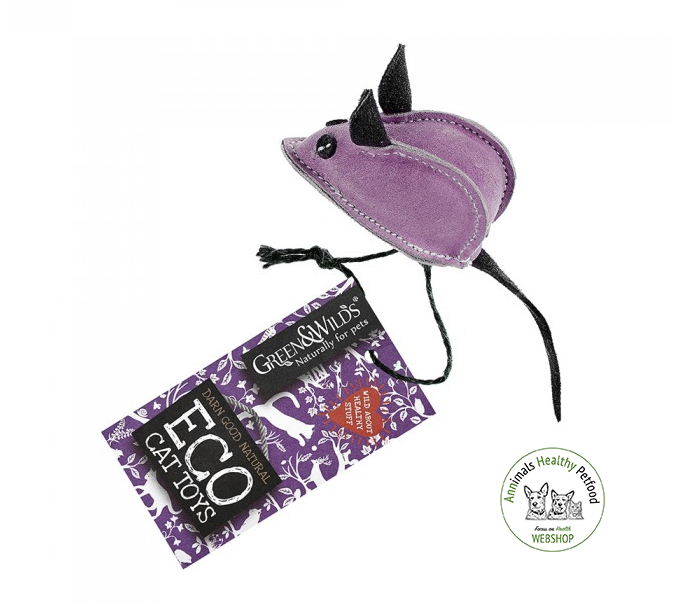 Midge the Mouse (cats) - Eco Toy for Cats