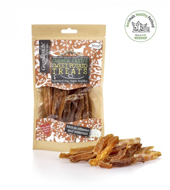 Green&Wilds Sweet Potato Treats - 100g