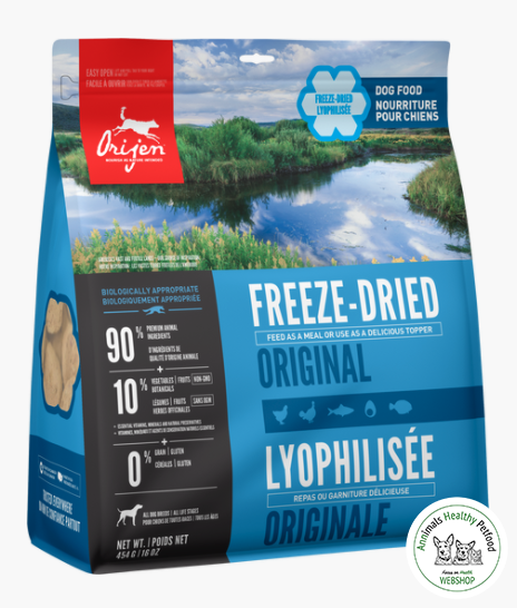 Orijen Freeze- Dried Dogfood Original