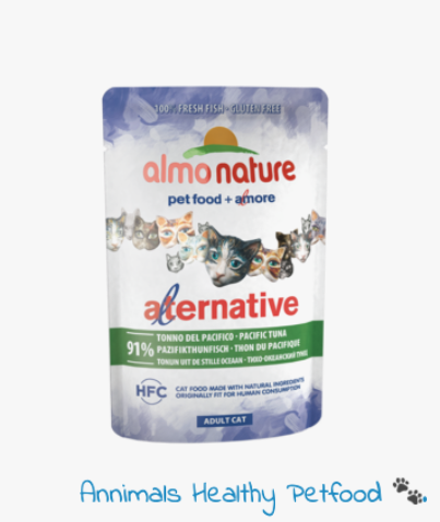 Almo Nature Kat Alternative Natvoer Tonijn uit de Stille Oceaan - 24 x 55g