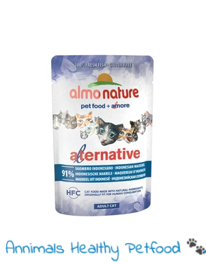 Almo Nature Kat Alternative Natvoer Indonesisch Makreel - 55g