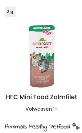 HFC Mini Food Zalmfilet 5 x 3g