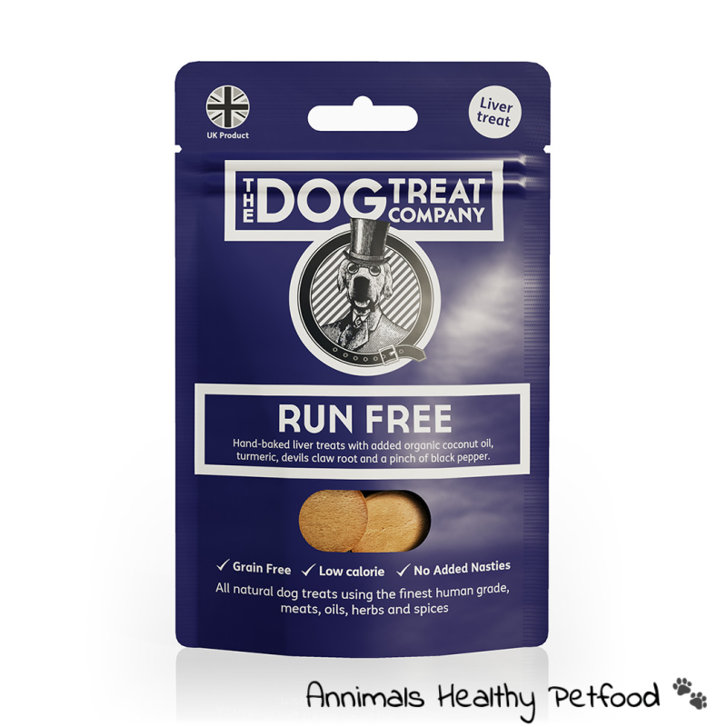 Run Free Premium Liver Treat Pouch 50g