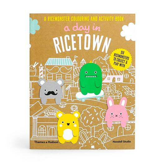 'A day in ricetown' activity book