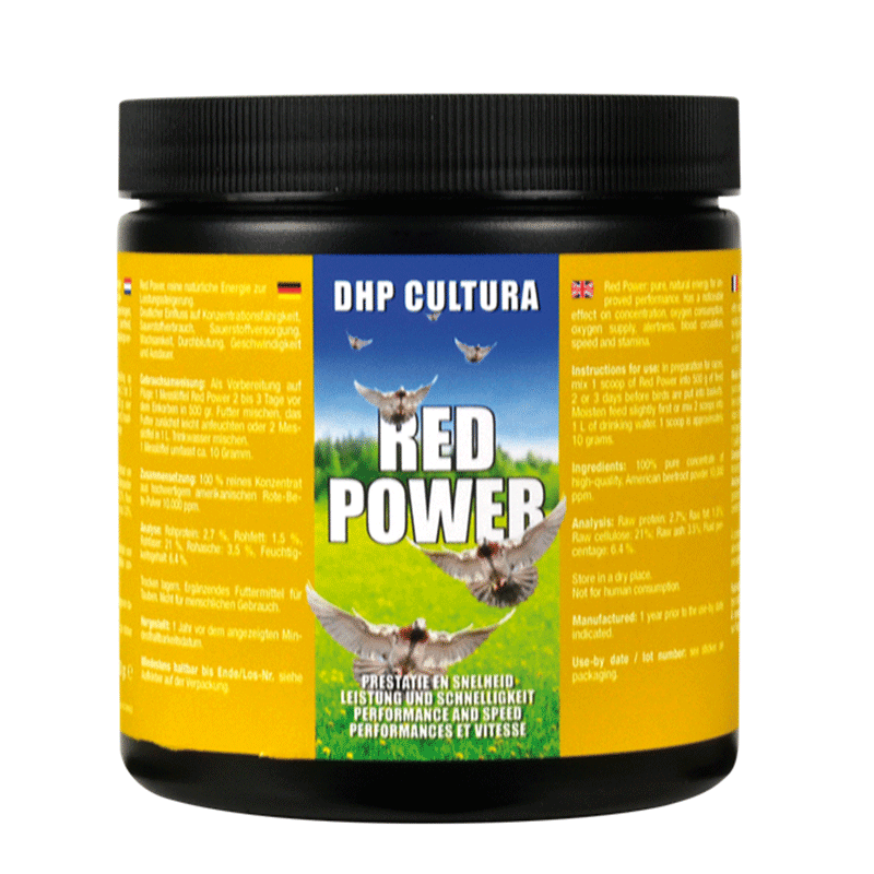 DHP Red power 250 gram
