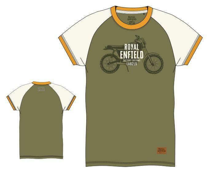 Ride The Legacy T-Shirt Light Olive / White - RECL