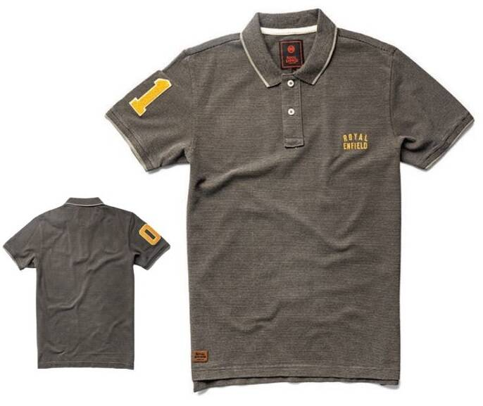 The One Polo Charcoal - RECL