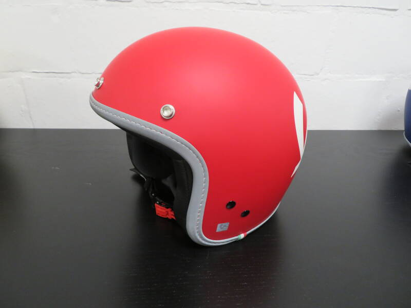 Vespa Color Helm Rood