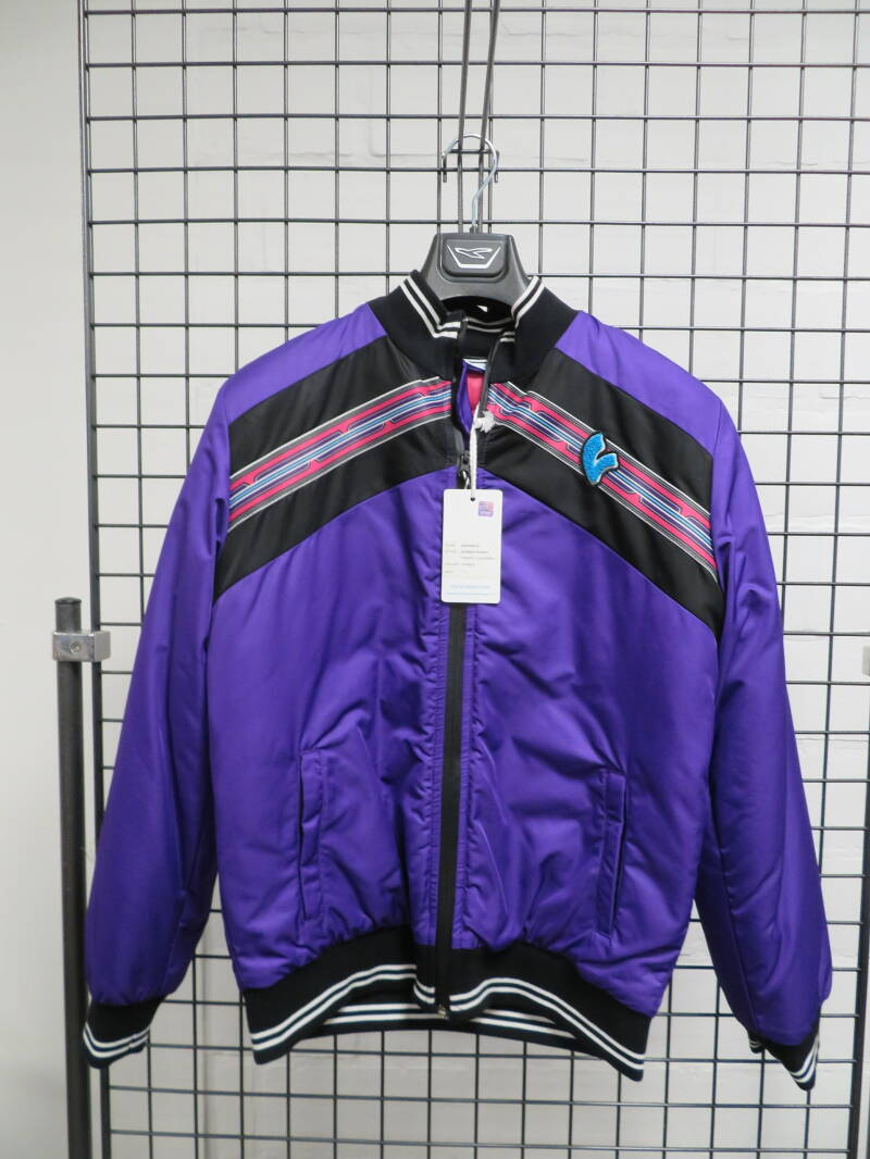 Vespa Bomber Stripes Paars Dames