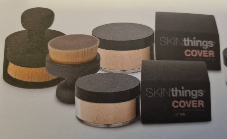 Make Up    SKINthings Cover   Mineral Make Up in versch. Farben