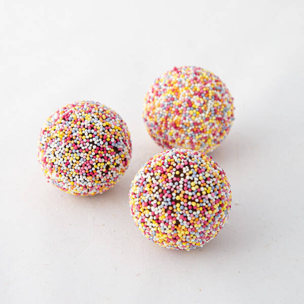 discodips, witte en pure chocolade