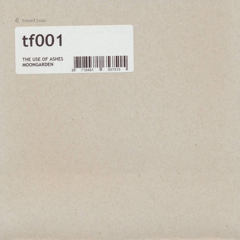 """TF001 // THE USE OF ASHES - MOONGARDEN (7"""")"""