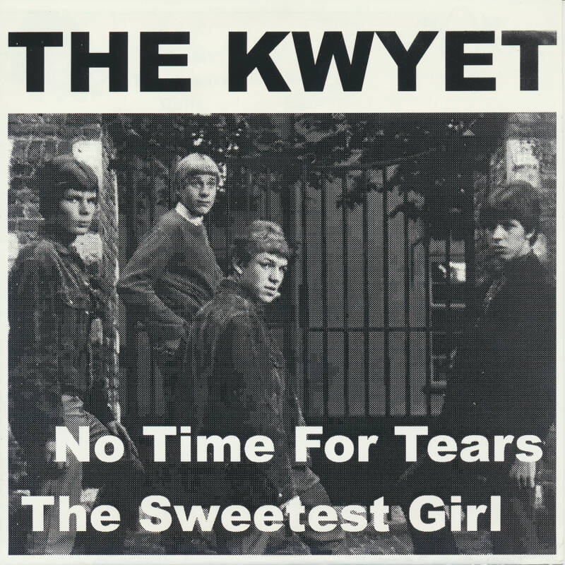 "TF008 // THE KWYET - NO TIME FOR TEARS (7"")"