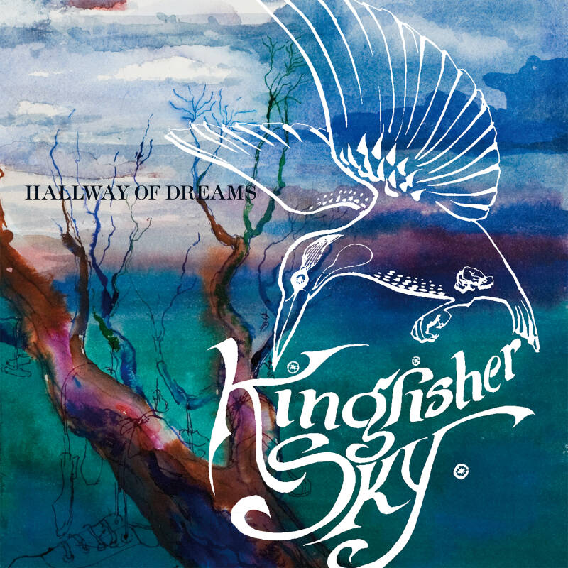 "TF043 // KINGFISHER SKY - HALLWAY OF DREAMS (BLUE VINYL LP + 7"")"