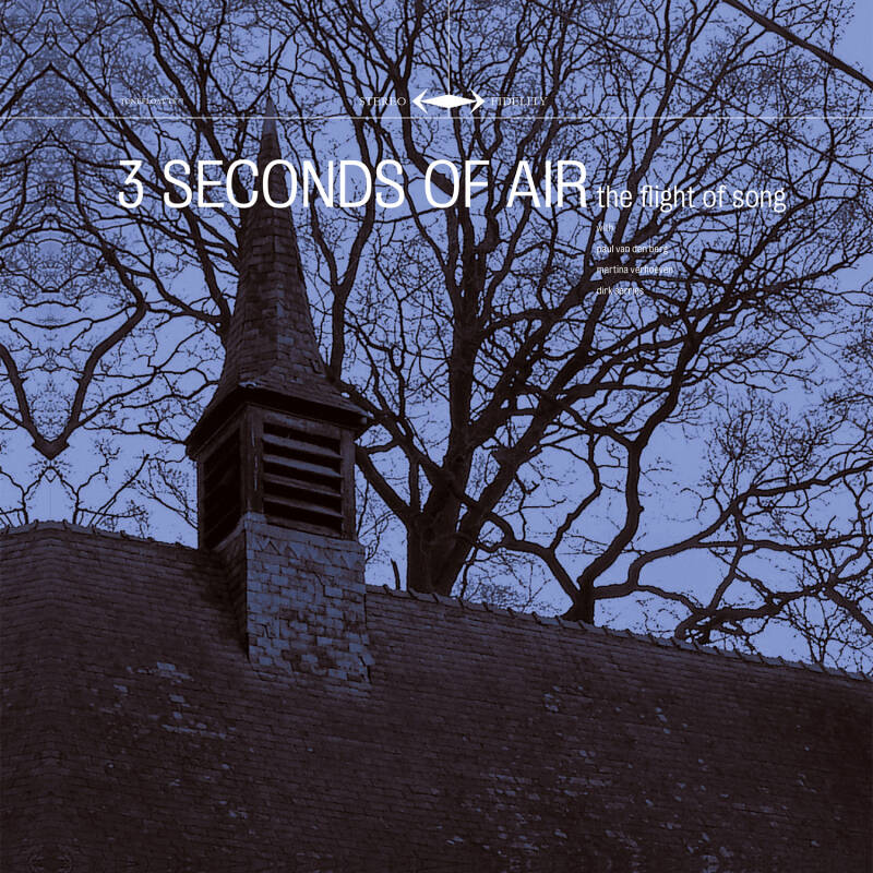 TF077-078 // 3 SECONDS OF AIR - THE FLIGHT OF SONG (CD + CLEAR LP EDITION + SHIRT M)