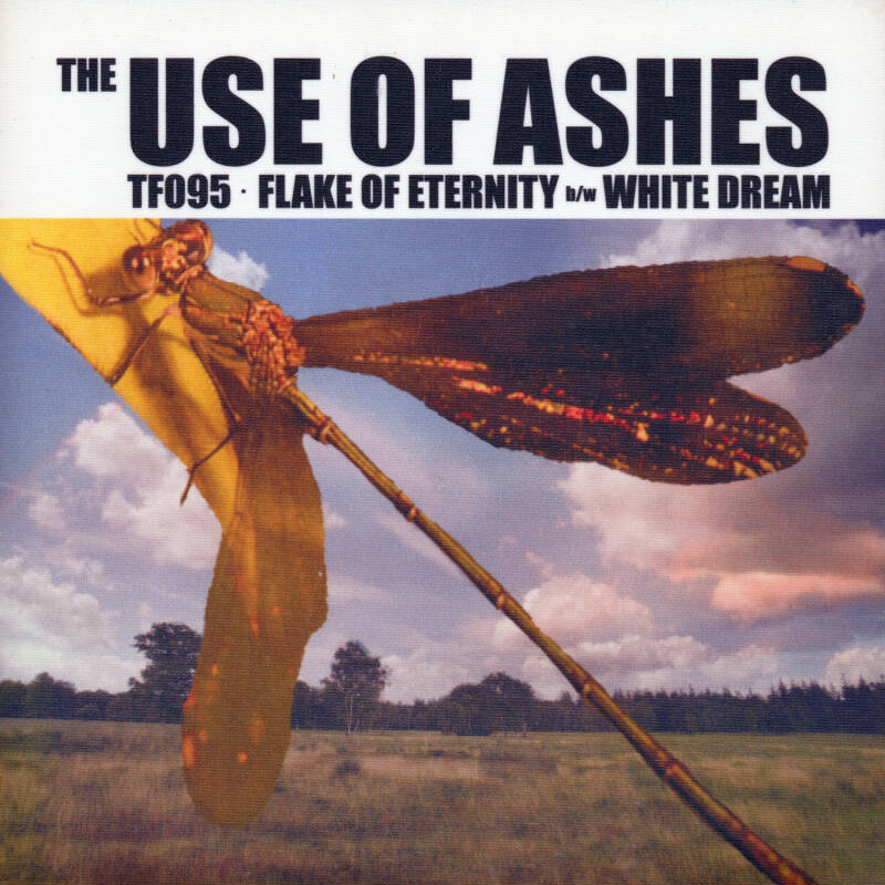 """TF095 // THE USE OF ASHES - FLAKE OF ETERNITY - SLEEVE G (7"""")"""