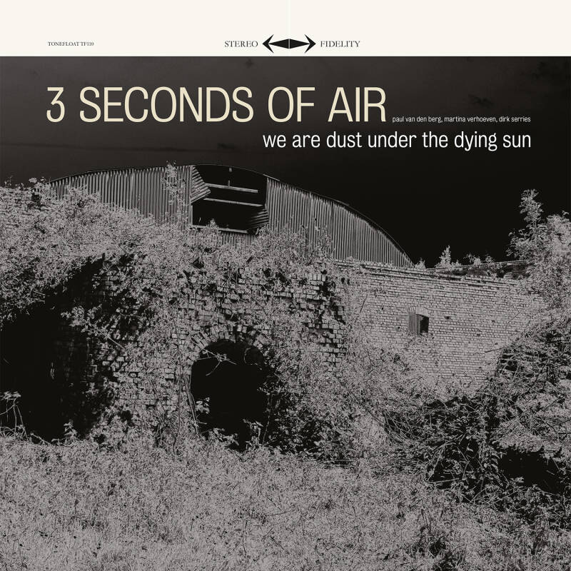 TF111 // 3 SECONDS OF AIR - WE ARE DUST UNDER THE DYING SUN (CD)