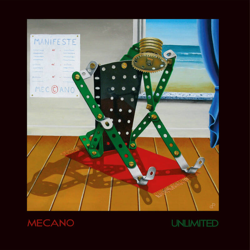 TF179 // MECANO UNLIMITED - MECANO UNLIMITED (CD)
