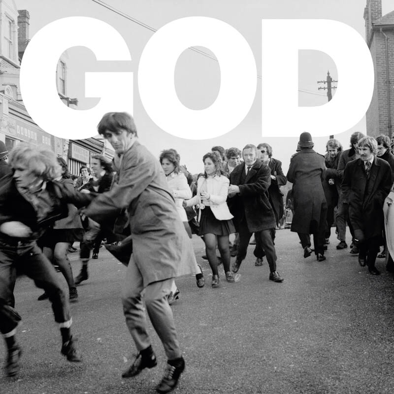 """TF192 // GOD - PANIC UNDERNEATH THE ARCHES (MARBLED VINYL 12"""")"""