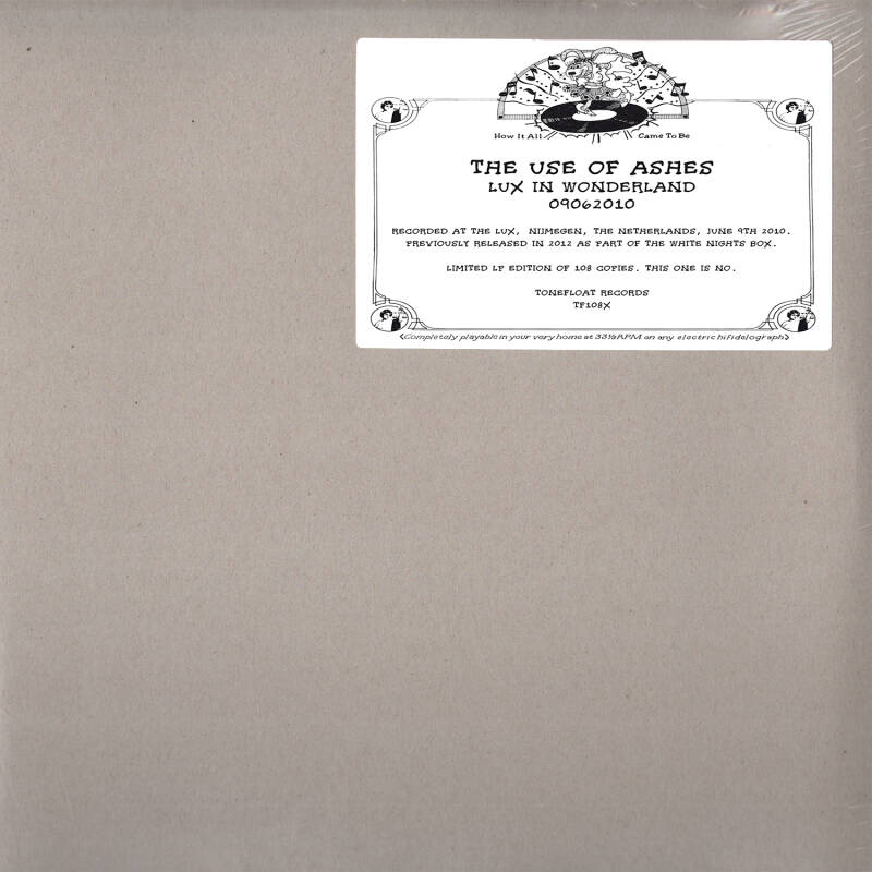 TF108X // THE USE OF ASHES - LUX IN WONDERLAND (LP)