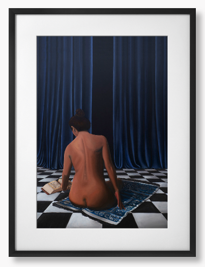 Framed poster - The Pawn