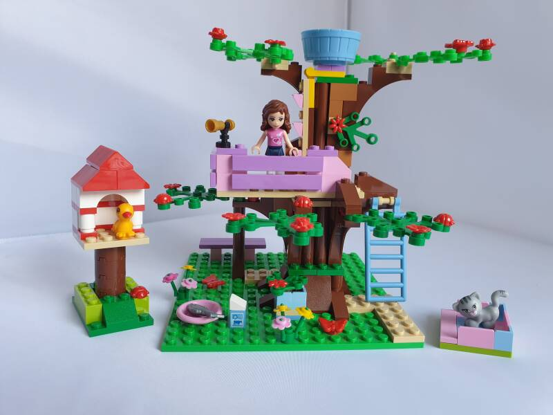 Lego Friends Emma's boomhut