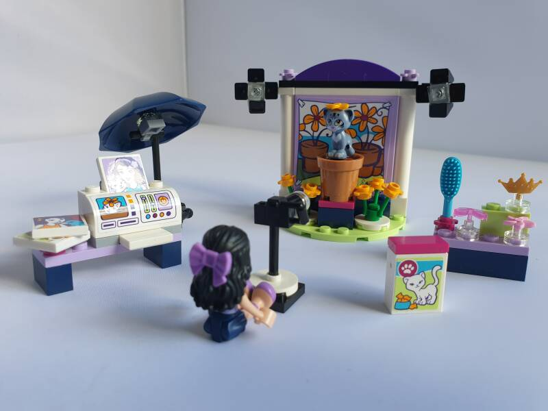 Lego Friends Emma's Fotostudio