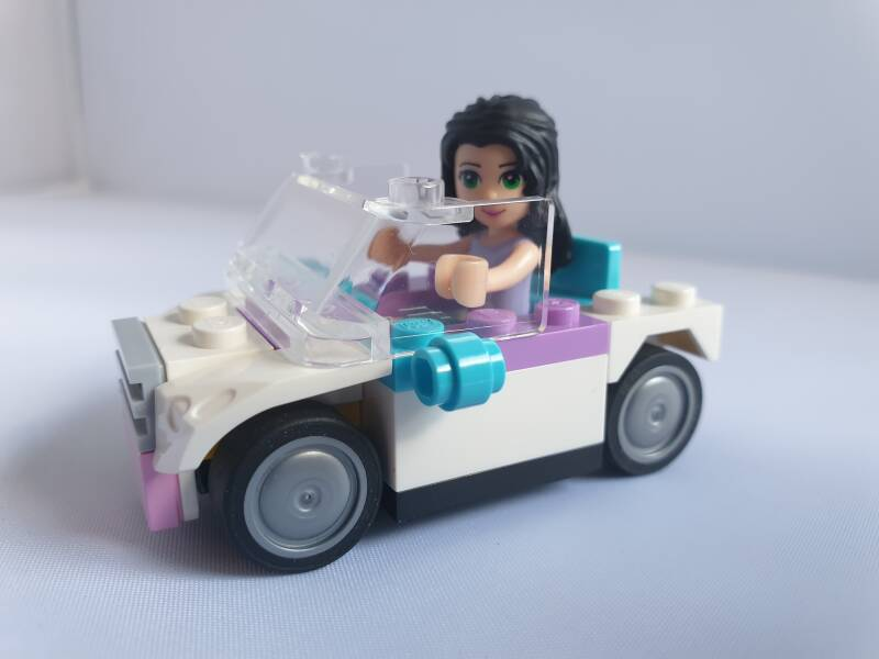Lego Friends auto