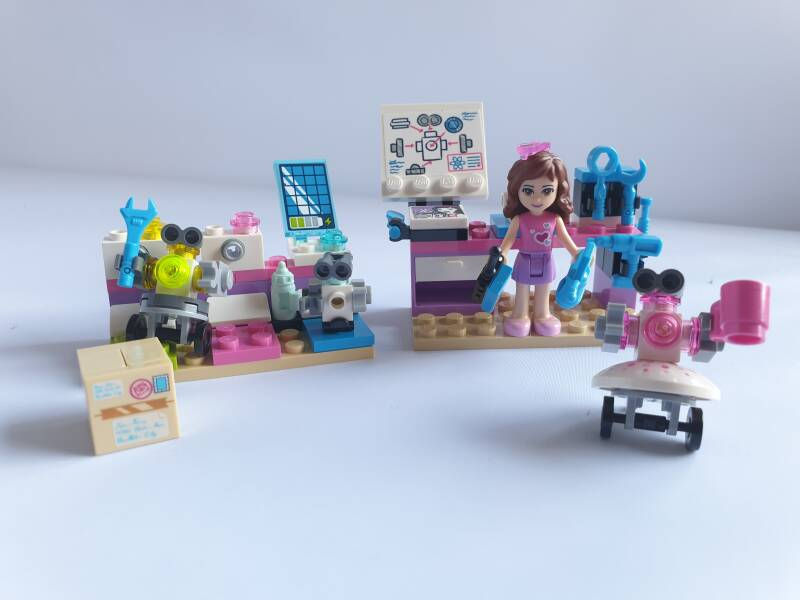 Lego Friends Olivia's laboratorium