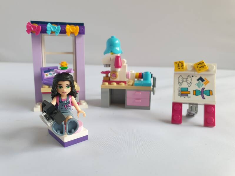 Lego Friends Emma's atelier