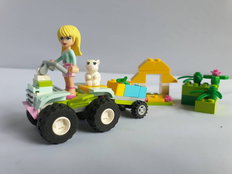 Lego Friends Huisdierentransport