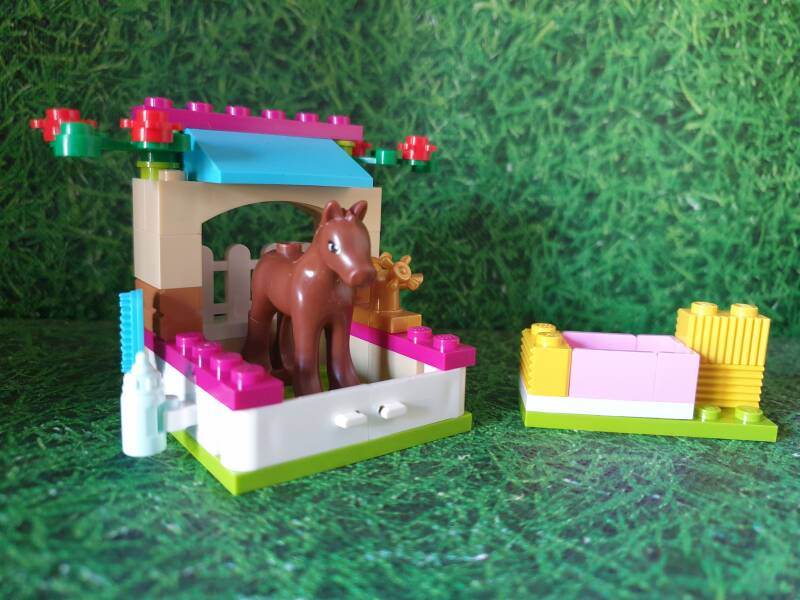 Lego Friends paardenstal