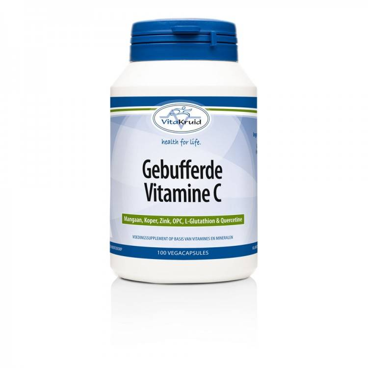 Gebufferde Vitamine C (100 caps)