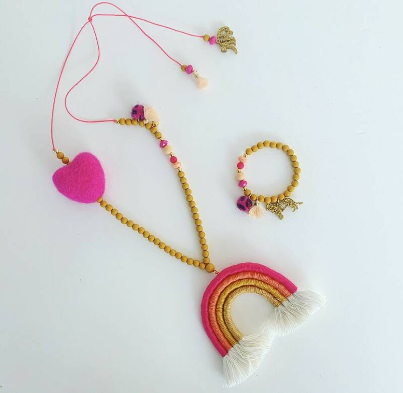 Sweetheart colorique ketting